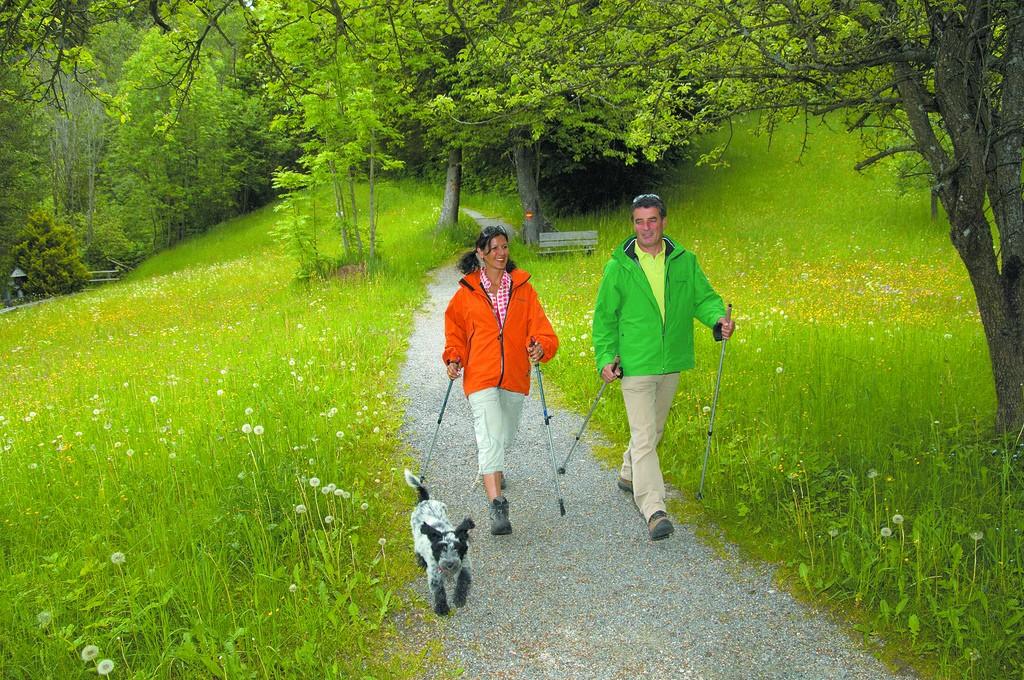 Nordic Waling man en vrouw